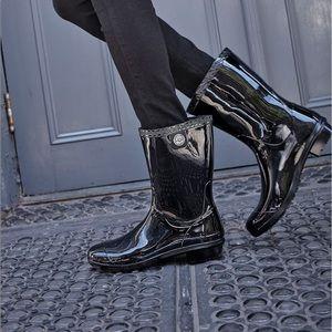 Ugg Sienna Patent Rain Boots